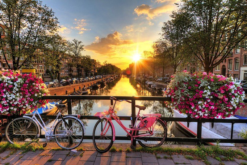 Amsterdam-City-Break-Bicycles-Canals-Europe