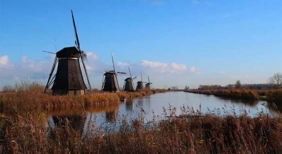 AmaWaterways Tulip Tour - Kinderdijk Windmills