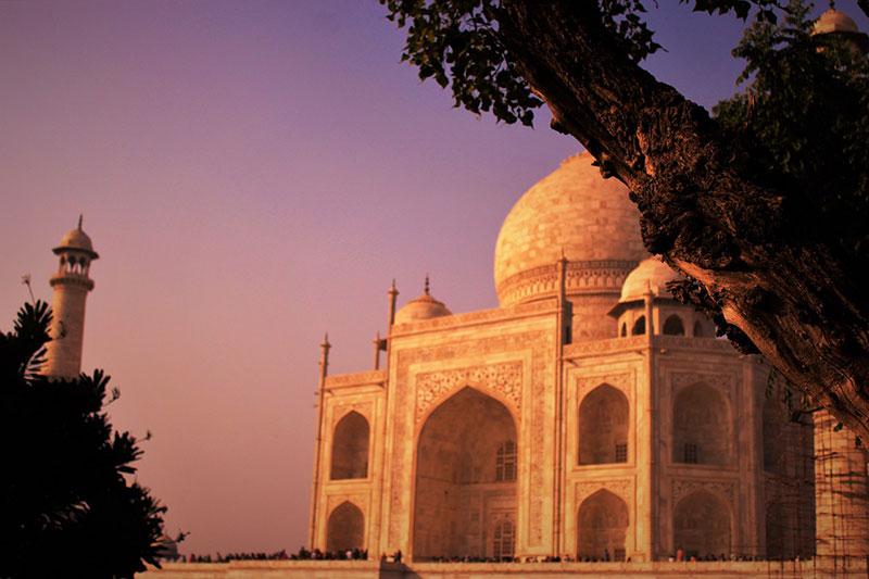Century Solos Indian Golden Triangle Tour - Taj Mahal Sunset