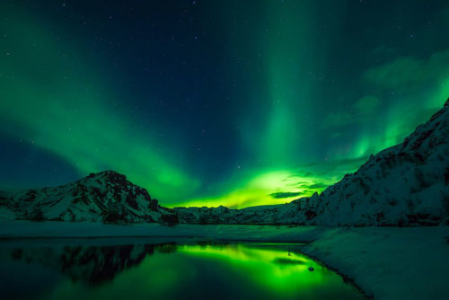Cruise and Maritime Northern Lights - Aurora in Iceland