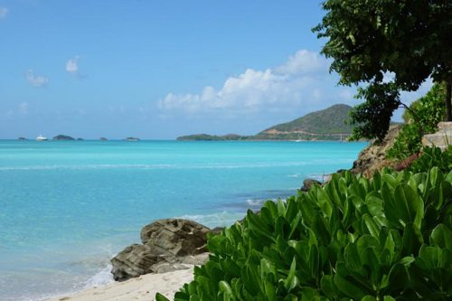 Crystal Cruises Antigua Beach