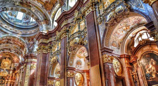 Crystal Cruises Danube Serenade - Melk Baroque Church