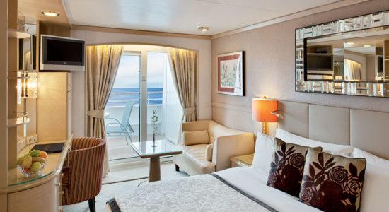 Crystal Symphony Japan China Ship room with balcony