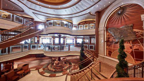 Cunard XMas New Year Canary Islands - Grand Lobby