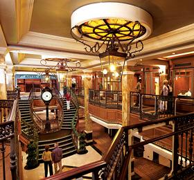 Cunard stairs