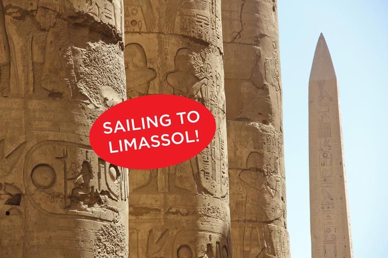 Fred Olsen Muscat to Limassol - Egypt