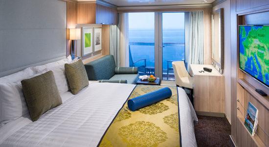 HAL Mediterranean Riviera - Koningsdam Balcony