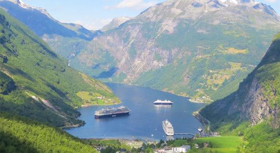 HAL Viking Fjords - Fjords with ships