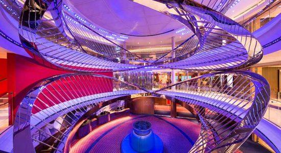 HAL Viking Fjords - Ship Nieuw Atrium