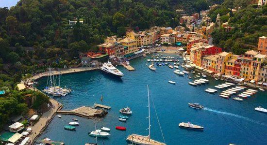 Oceania Monaco to Rome - Portofino