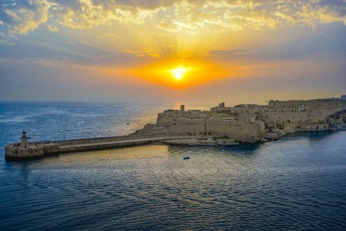 Sunrise in Malta